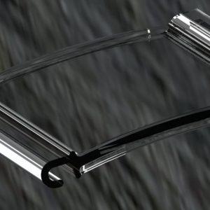 کرکره برقی شفاف پلی کربنات شیشه ای